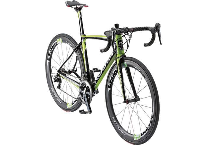 Bicicleta Kuota Kougar negra-verde II