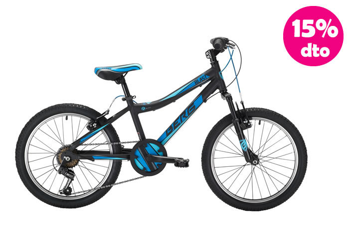 Bicicleta INFANTIL BERG BLAS-206 Azul-Negra 20