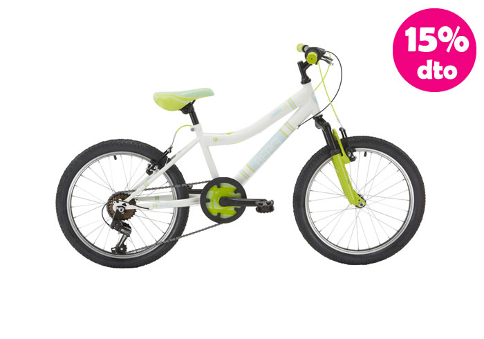 Bicicleta INFANTIL BERG CHARM-205 Verde-Amarilla 20