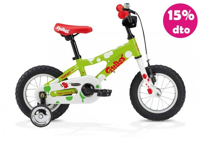 Bicicleta INFANTIL GHOST POWERKID Verde 12