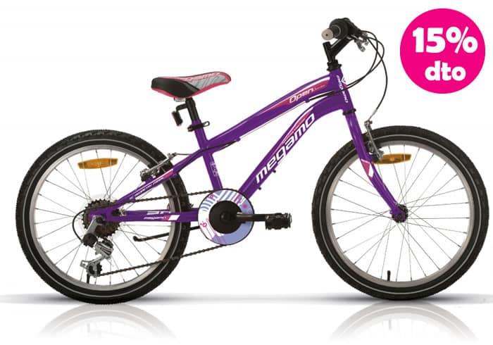 Bicicleta INFANTIL MEGAMO OPEN JUNIOR Morada 20