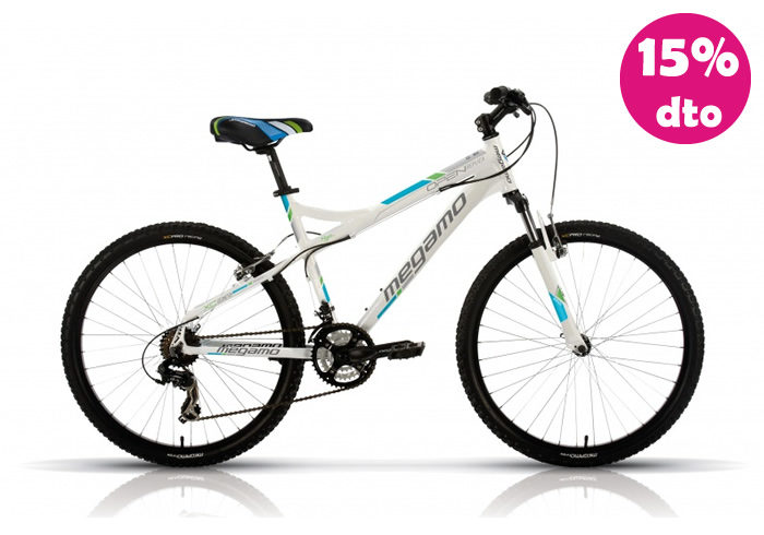 Bicicleta INFANTIL MEGAMO OPEN REPLICA Blanca 20