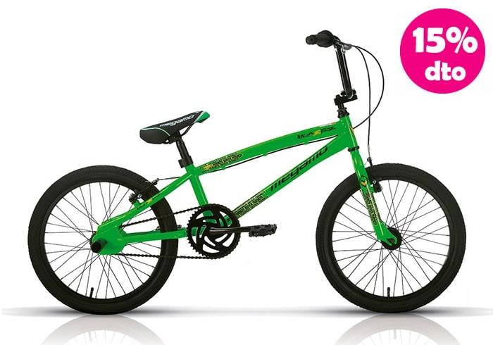 Bicicleta INFANTIL MEGAMO BLAZER BMX verde 20