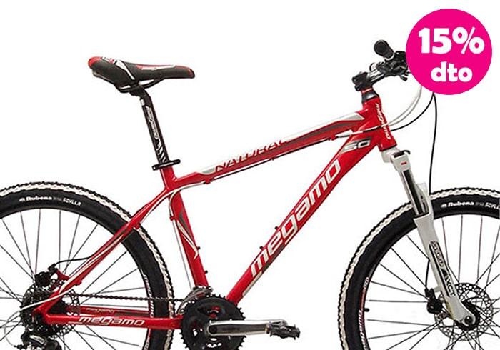 Bicicleta INFANTIL MEGAMO NATURAL 50 roja 26