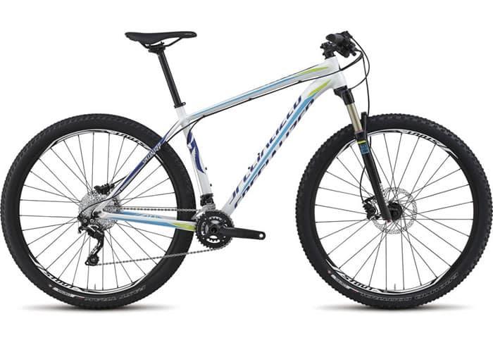 bicicleta montaña specialized crave comp blanca