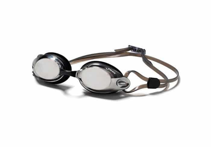 gafas de natacion finis bolt plata espejo