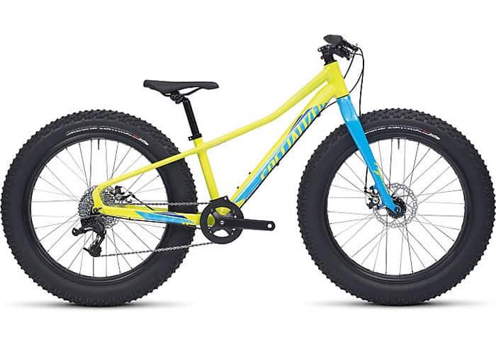 bicicleta de montaña infantil fatboy 24 2017