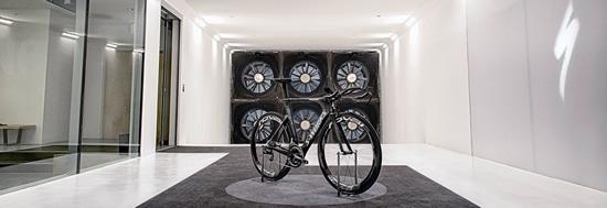 Bicicletas aero para Triatlón - tunel del viento