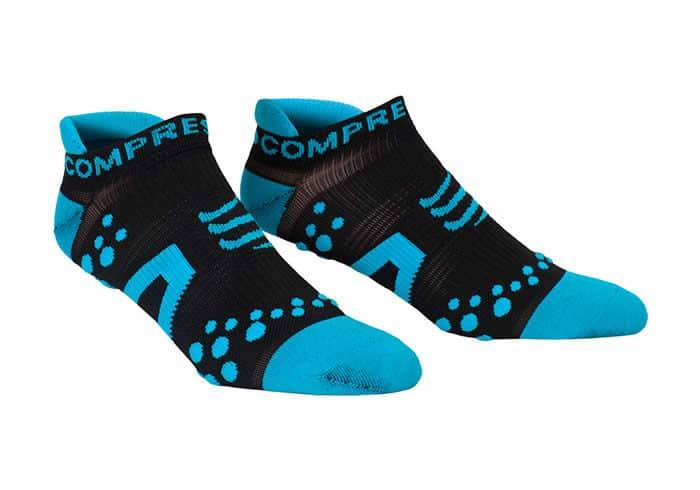 Calcetines cortos de compresion compressport