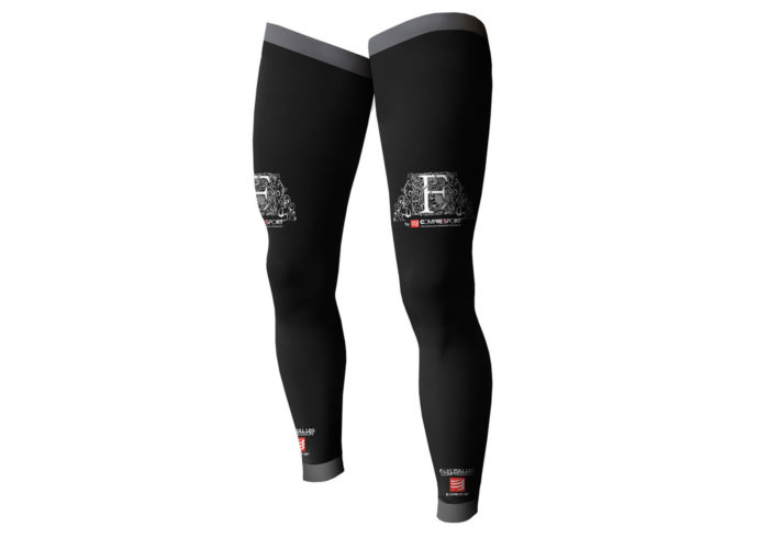 Medias Compresion Compressport FULL LEG negras