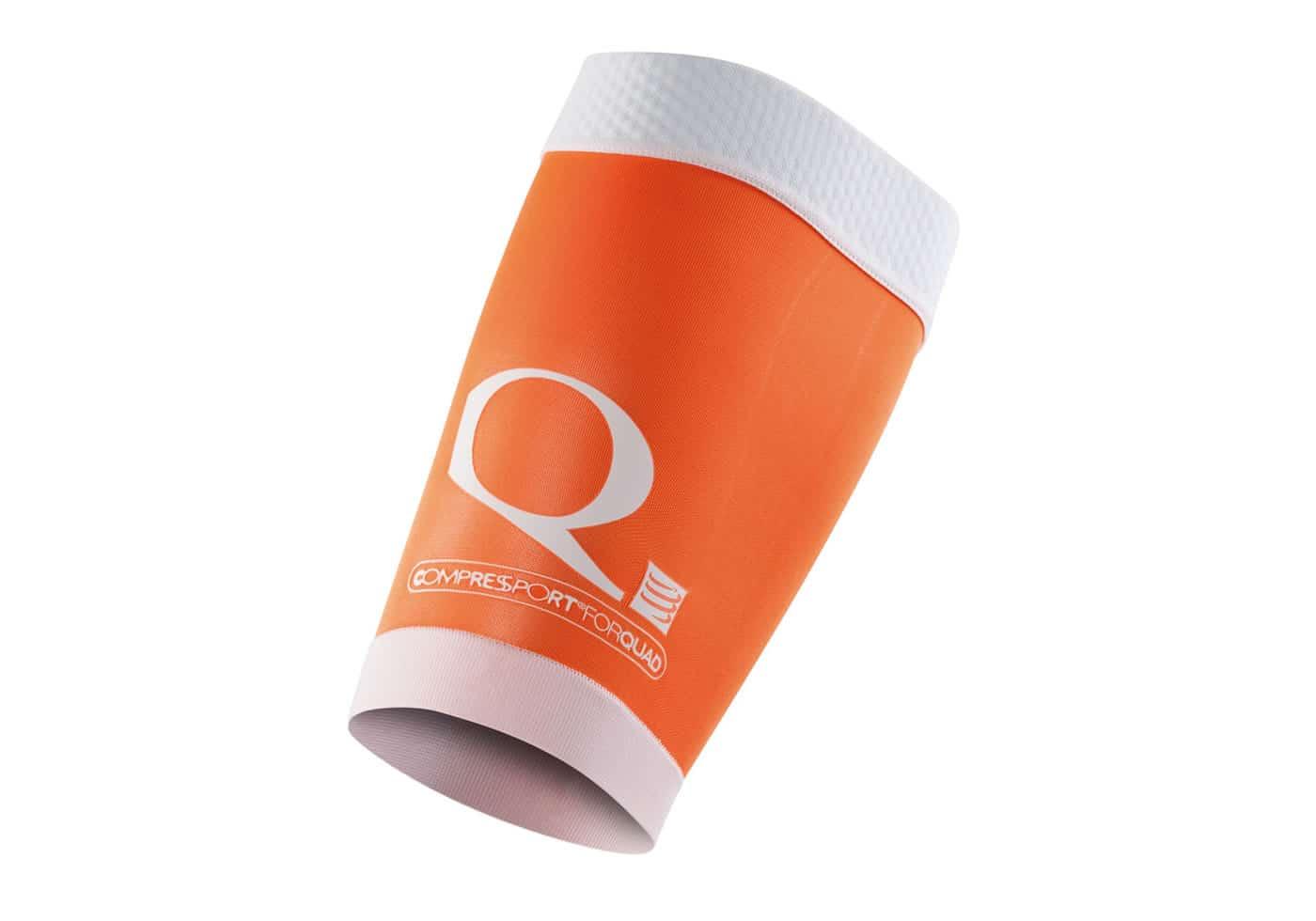 Muslera Compresion Compressport QUAD naranja