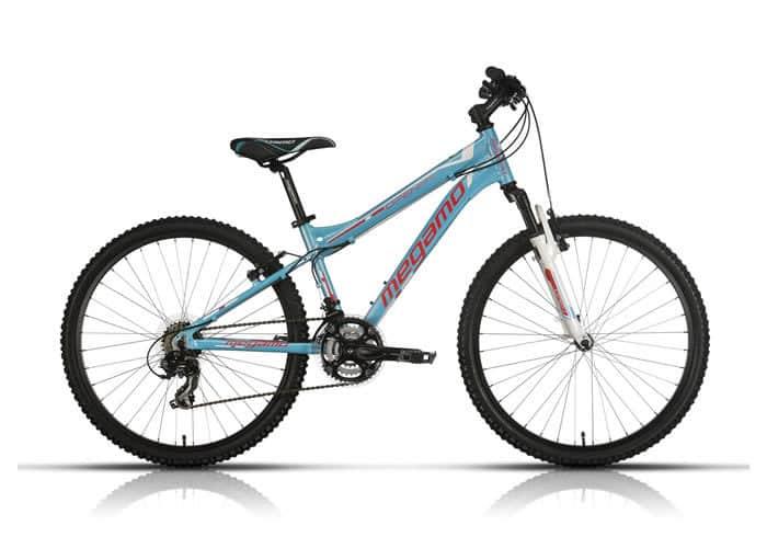 Bicicleta Infantil chica MEGAMO azul 26