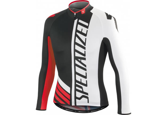 Maillot manga larga Specialized PRO-RACE negro
