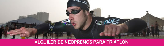 ALQUILER DE NEOPRENOS