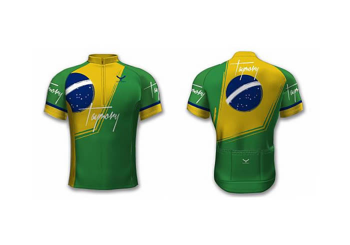 MAILLOT CICLISMO TAYMORY BRASIL