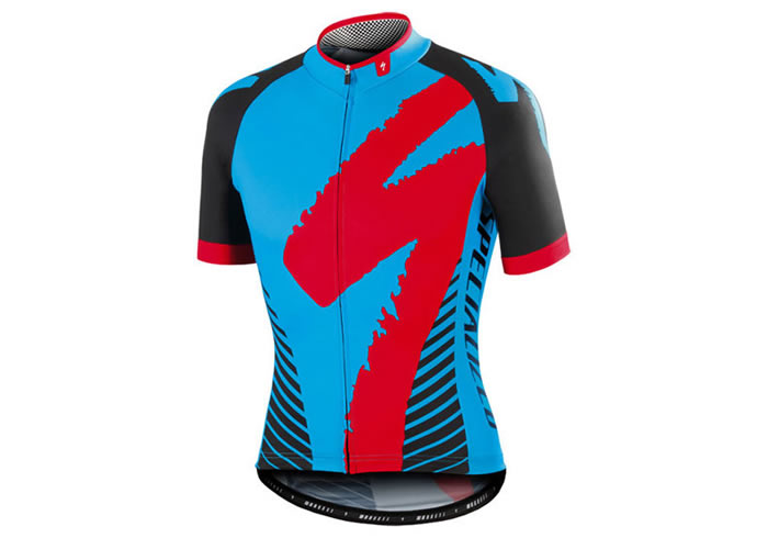Maillot Specialized PRO-RACE azul-rojo