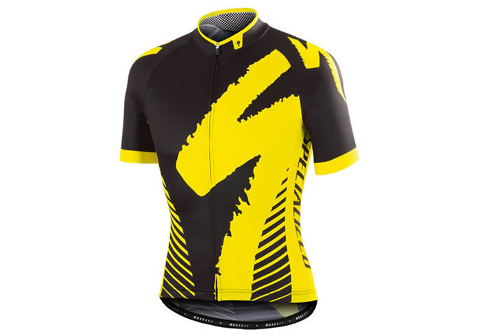 Maillot Specialized PRO-RACE negro-amarillo