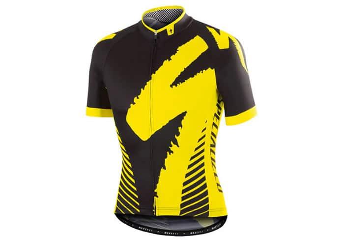 Maillot Specialized PRO-RACE negro-amarillo