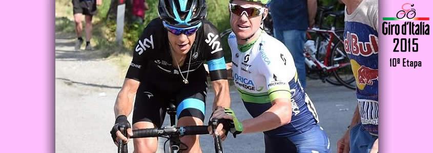 Giro de italia 2015 ETAPA 10
