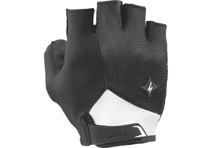 guante mujer specialized geometry sport negro-blanco