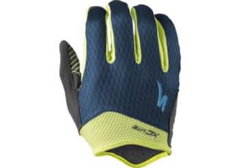 guantes mtb specialized xc lite azul-fluor