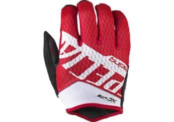 guantes mtb specialized xc lite rojo-blanco
