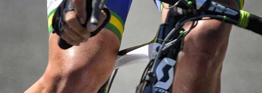 lesiones en ciclismo