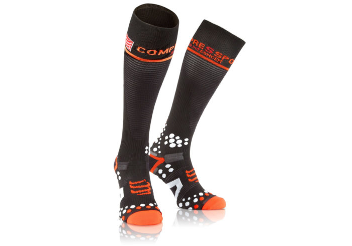Calcetines Compresion Compressport negros