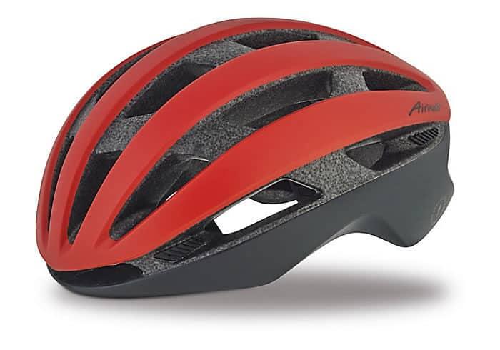 Casco Specialized Airnet rojo. Limpio y simple, el casco Airnet es la combinación ideal de funcionalidad y rendimiento para los ciclistas que buscan aventura y estilo.