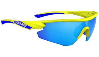 Gafas ciclismo SALICE 012 amarilla-azul