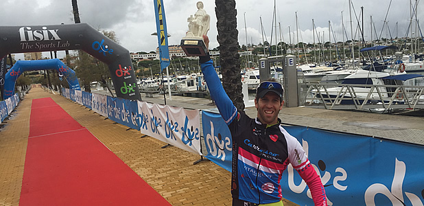 David Rodriguez campeon triatlon olimpico dx2