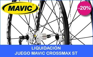Oferta especial - Liquidación Juego ruedas MTB MAVIC CROSSMAX ST