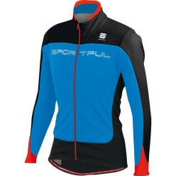 CHAQUETA CICLISMO INVIERNO SPORTFUL FLASH SOFTSHELL AZUL