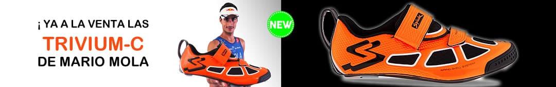 Zapatillas de triatlon de Mario Mola Spiuk TRIVIUM