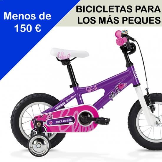 Bicicletas para los mas peques