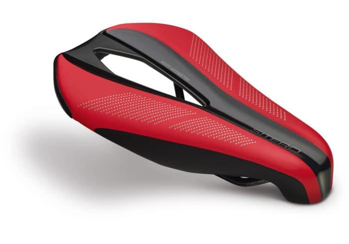 Sillin Specialized Sitero Expert Gel rojo. Diseñado por técnicos Body Geometry, médicos e ingenieros, este sillín permite un ajuste perfecto en la posición aerodinámica. Es lo mejor en su clase en cuanto a ajuste, tanto la zona de contacto como en el diseño del portabidón integrado que lo convierte en el mejor sillín de contrarreloj y triatlón del mundo.