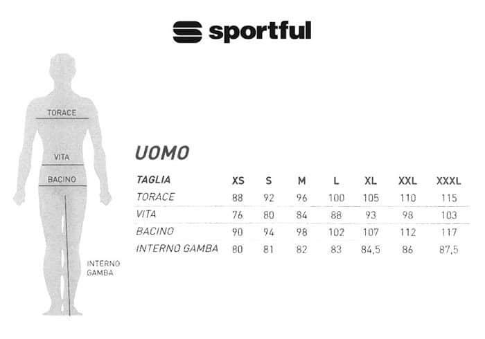 Elige tu talla Sportfull Tinkoff 2016