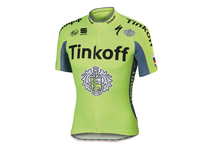 Maillot Sportful Tinkoff 2016 BodyFit Pro Team Jersey 1
