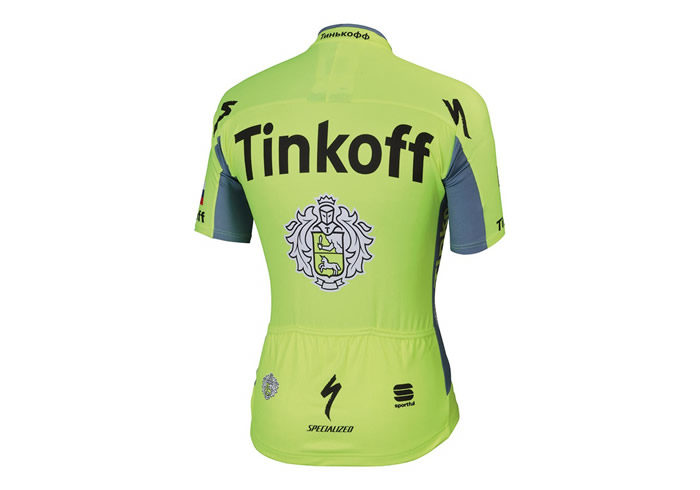 Maillot Sportful Tinkoff 2016 BodyFit Pro Team Jersey 2
