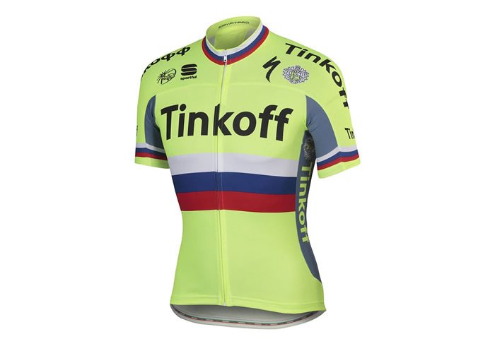 Maillot Sportful Tinkoff 2016 Russian Champ BodyFit Pro Team Jersey 1