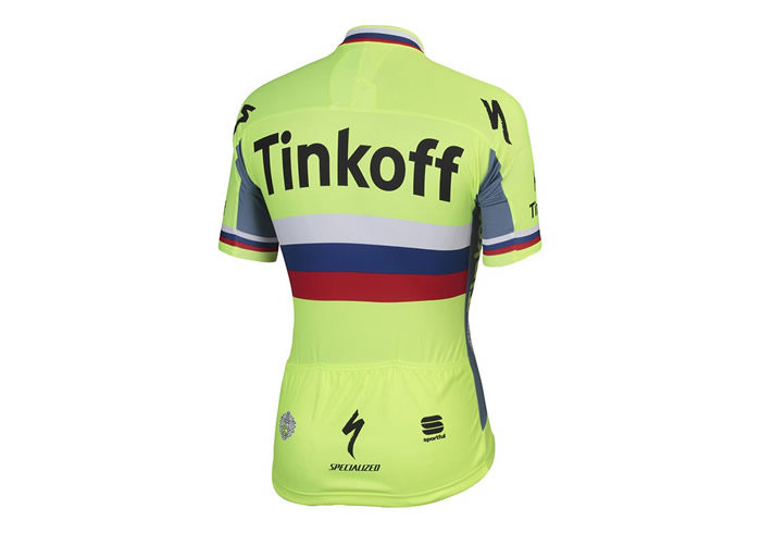 Maillot Sportful Tinkoff 2016 Russian Champ BodyFit Pro Team Jersey 2