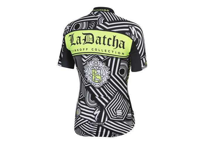 Maillot Sportful Tinkoff 2016 Training Camp BodyFit Pro Team Jersey 2