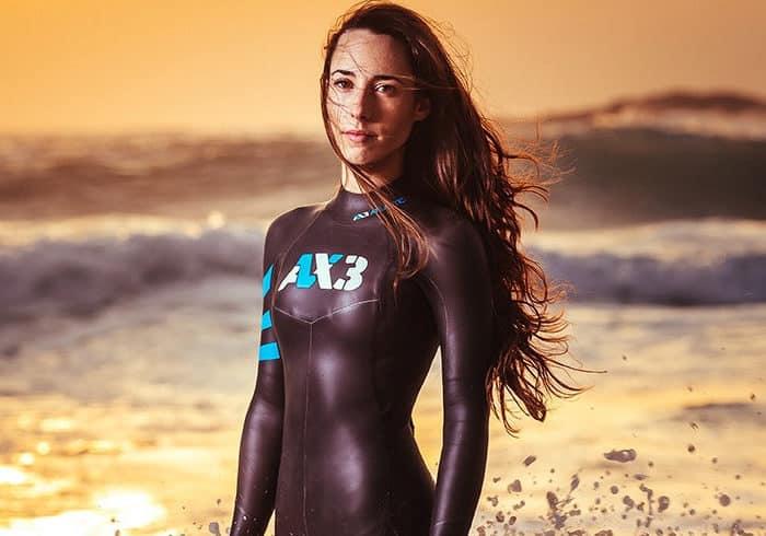 Neopreno Triatlon Mujer AX3
