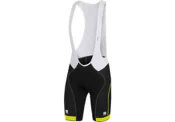 Culote ciclismo SPORFUL GIRO-BIBSHORT AMARILLO delante