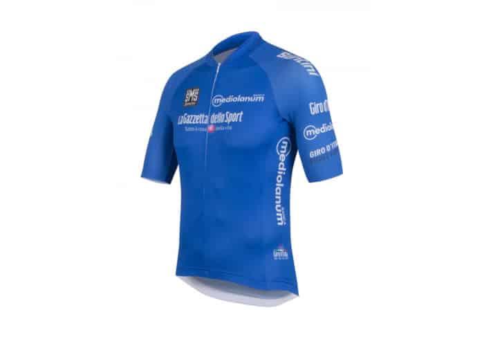 Maillot Azul Giro de Italia 2016 perfil