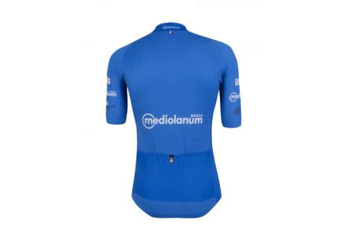 Maillot Azul Giro de Italia 2016 trasera