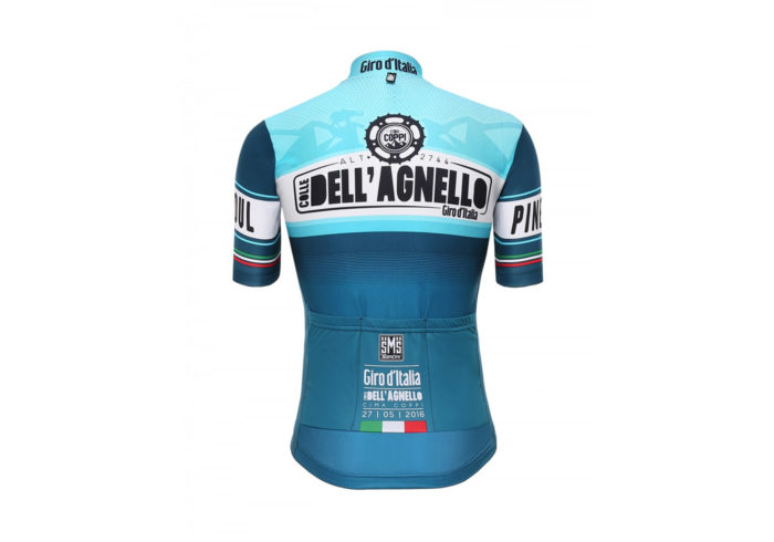 Maillot Dell'Agnelo Giro de Italia 2016 trasera