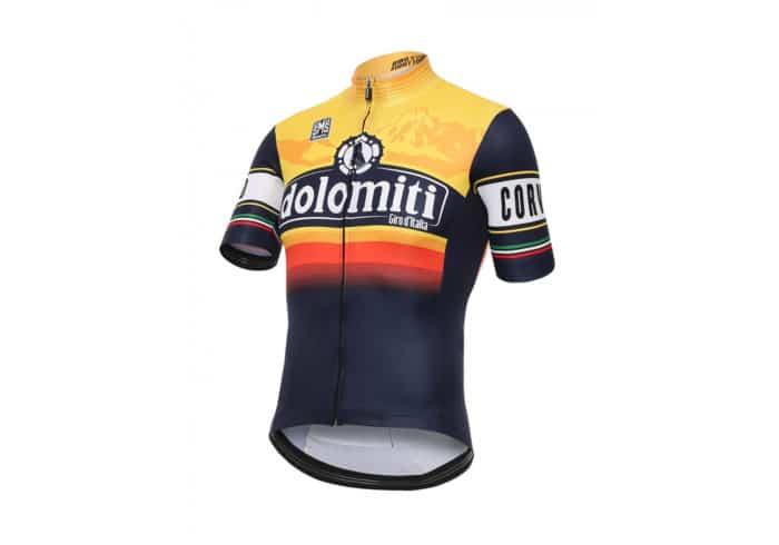 Maillot Dolomiti Giro de Italia 2016 perfil
