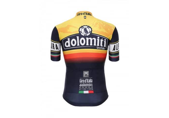 Maillot Dolomiti Giro de Italia 2016 trasera