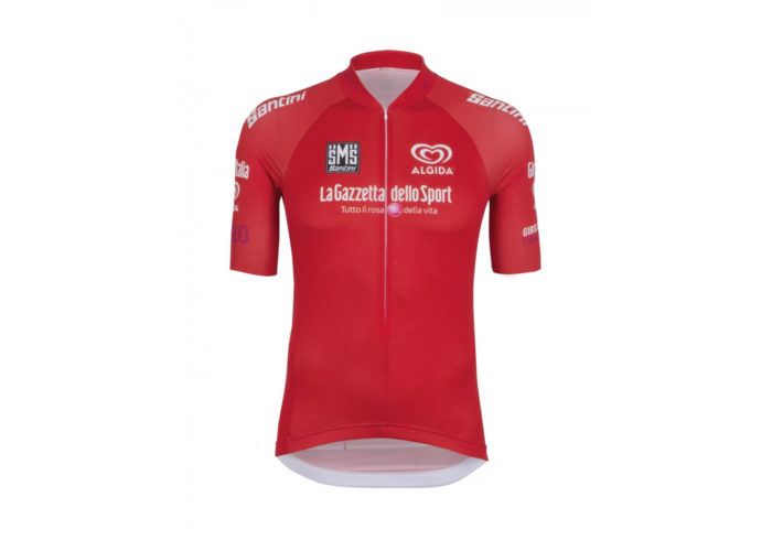 Maillot Rojo Giro de Italia 2016 delante